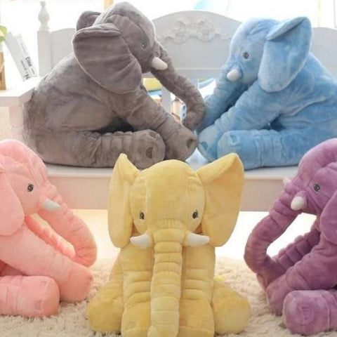 16 Inch New Fashion Stuffed Soft Elephant Animal Pillow