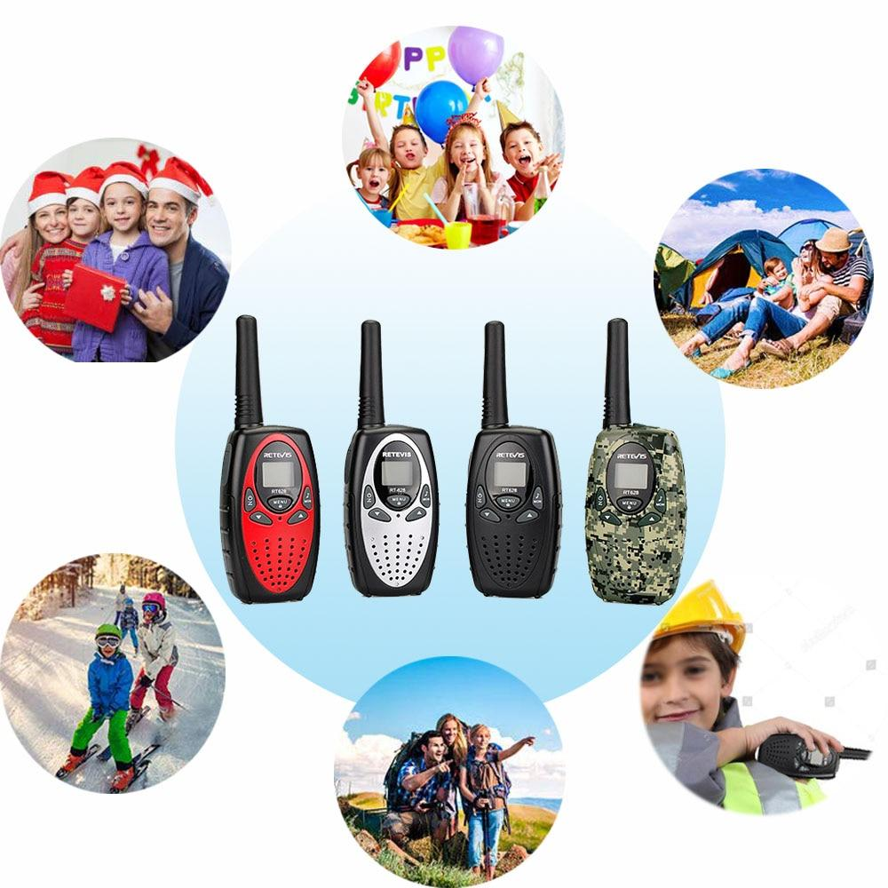 2 Pack 22 Channel Walkie Talkie Kids Radio Toy