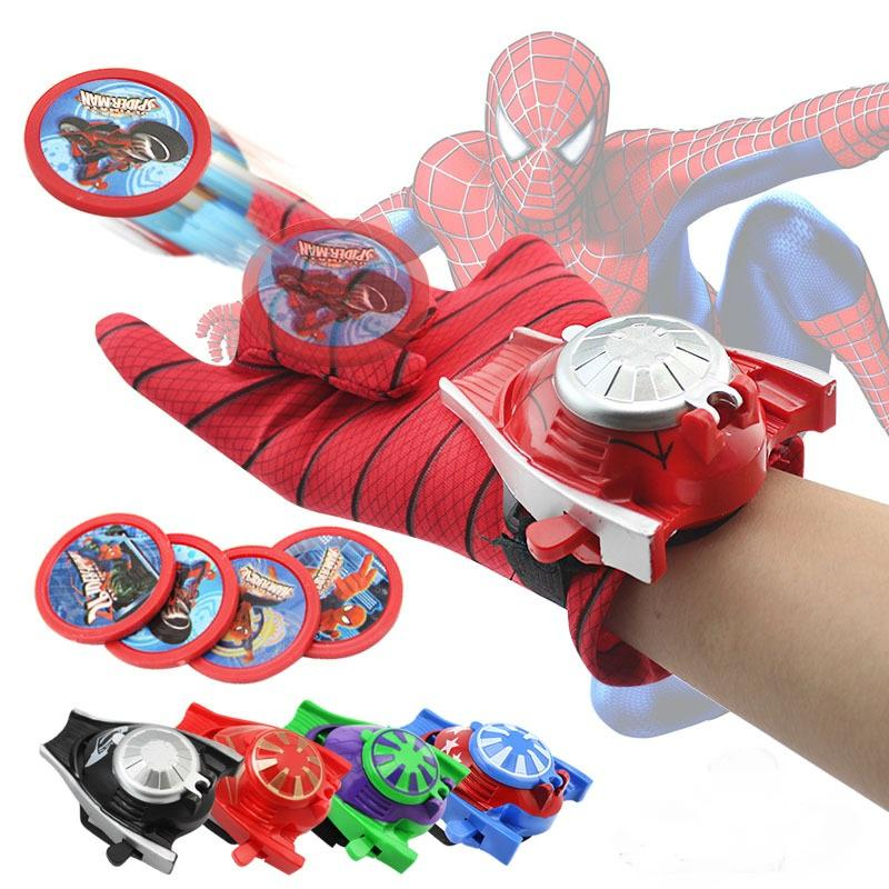 5 Super Hero Launcher Toys SpiderMan