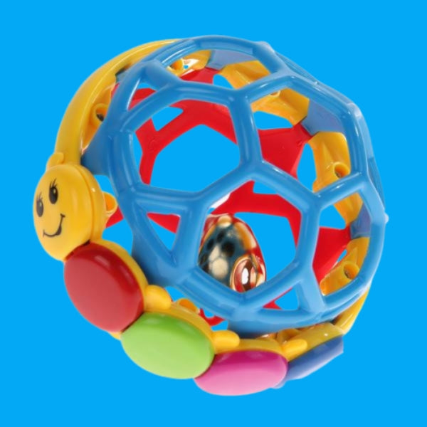 Baby Bendy Ball Rattle Toy