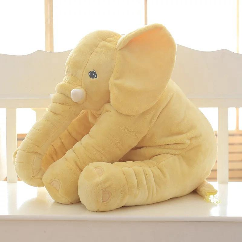 Cartoon 26 Inch Large Plush Elephant Kids Toy Gray
