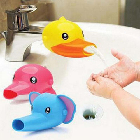 Cartoon Bathroom Sink Chute Extender