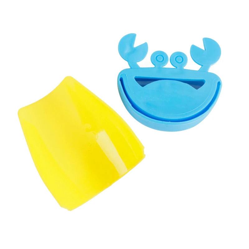 Children Faucet Chute Extender For Kids Washing Hands Blue