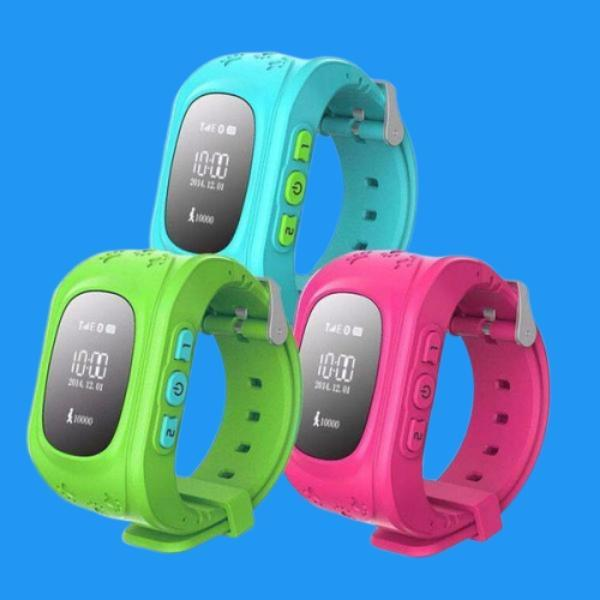 Children Monitor SIM Smart Watch Blue