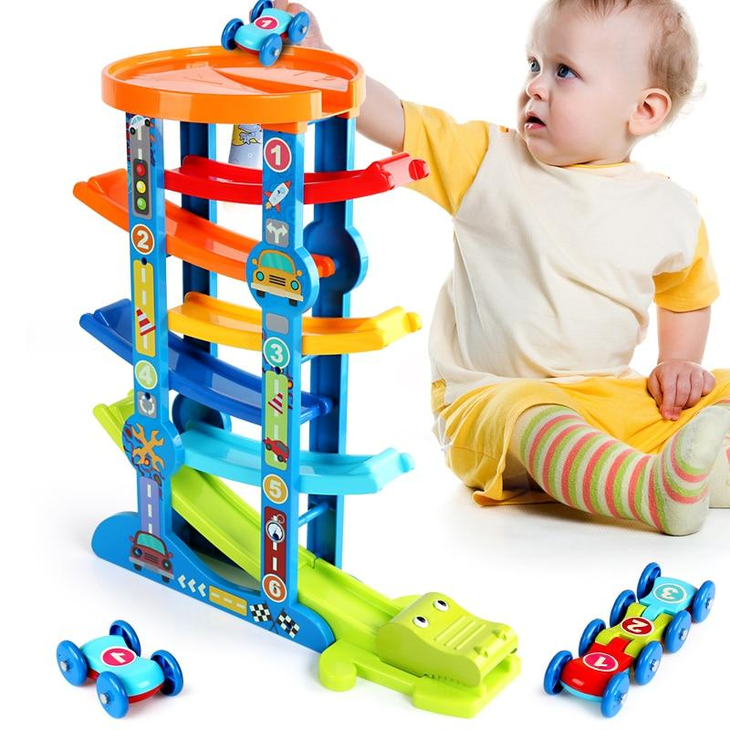 Classic Layered Ramp Race Track Toddler Toy