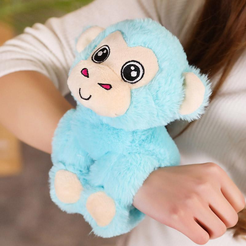 Cute Cartoon Plush Animal Bracelets Pink