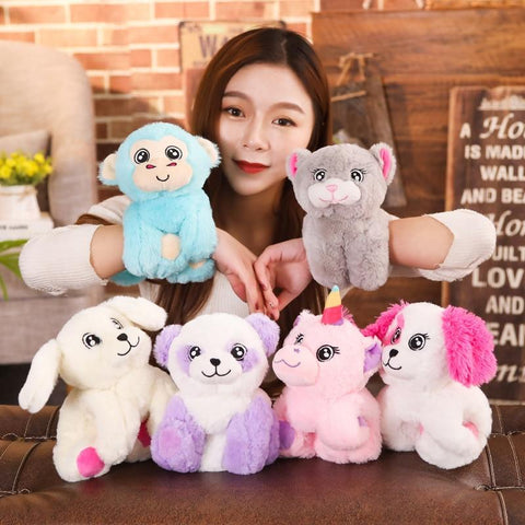 Cute Cartoon Plush Animal Bracelets