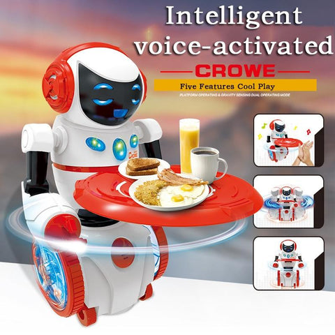 Dancing Humanoid Voice Activated Robot