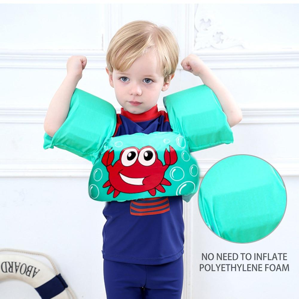 Kids Vest/Arm Ring Floating Jacket