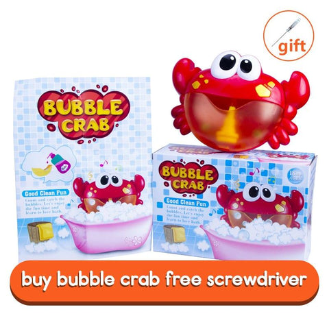 Mr. Crab's Bubble Crabs Bath Toy