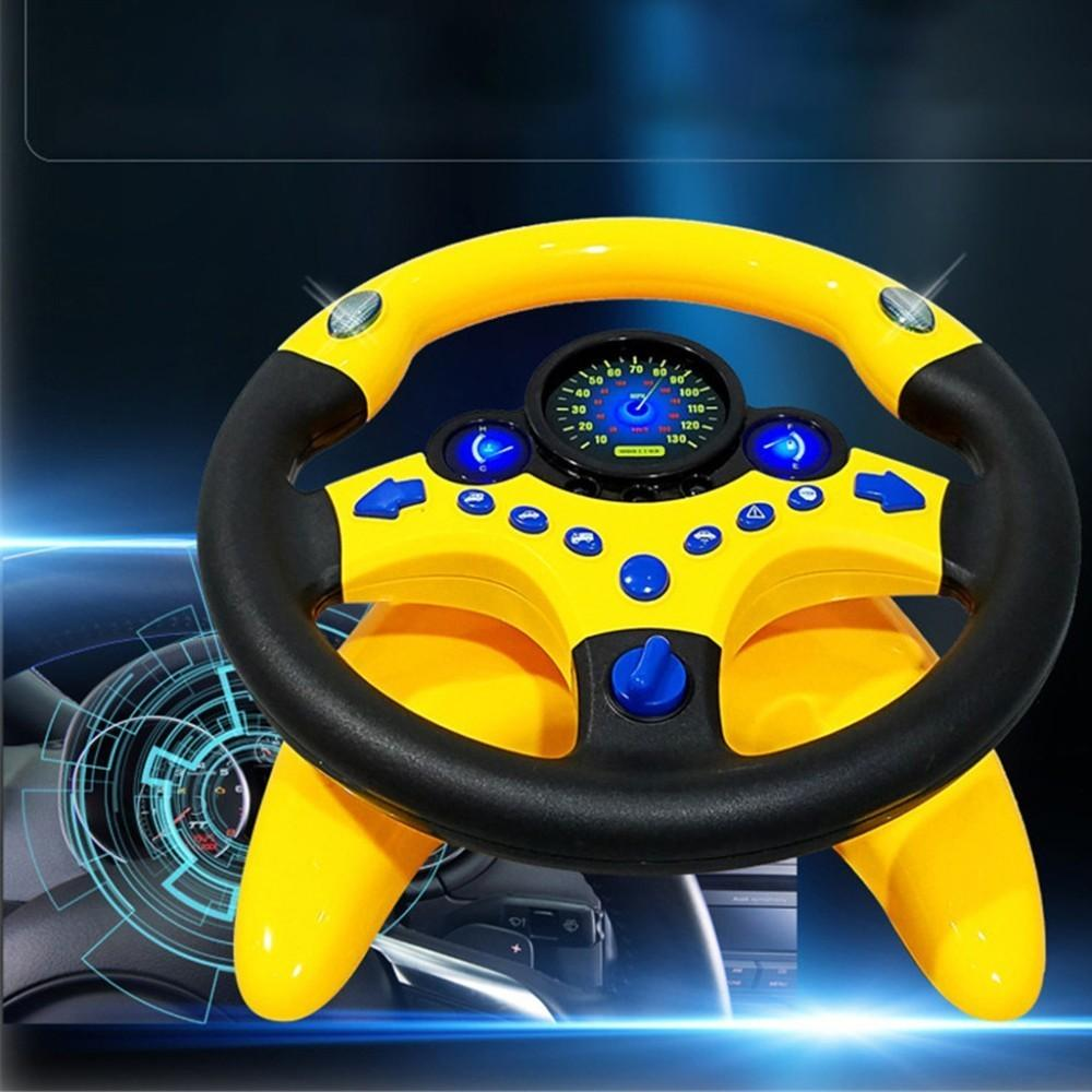 Musical Steering Wheel Simulation Toy