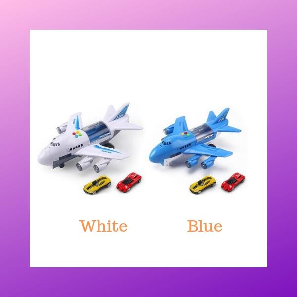 Passenger Aircraft Carrier Toy White