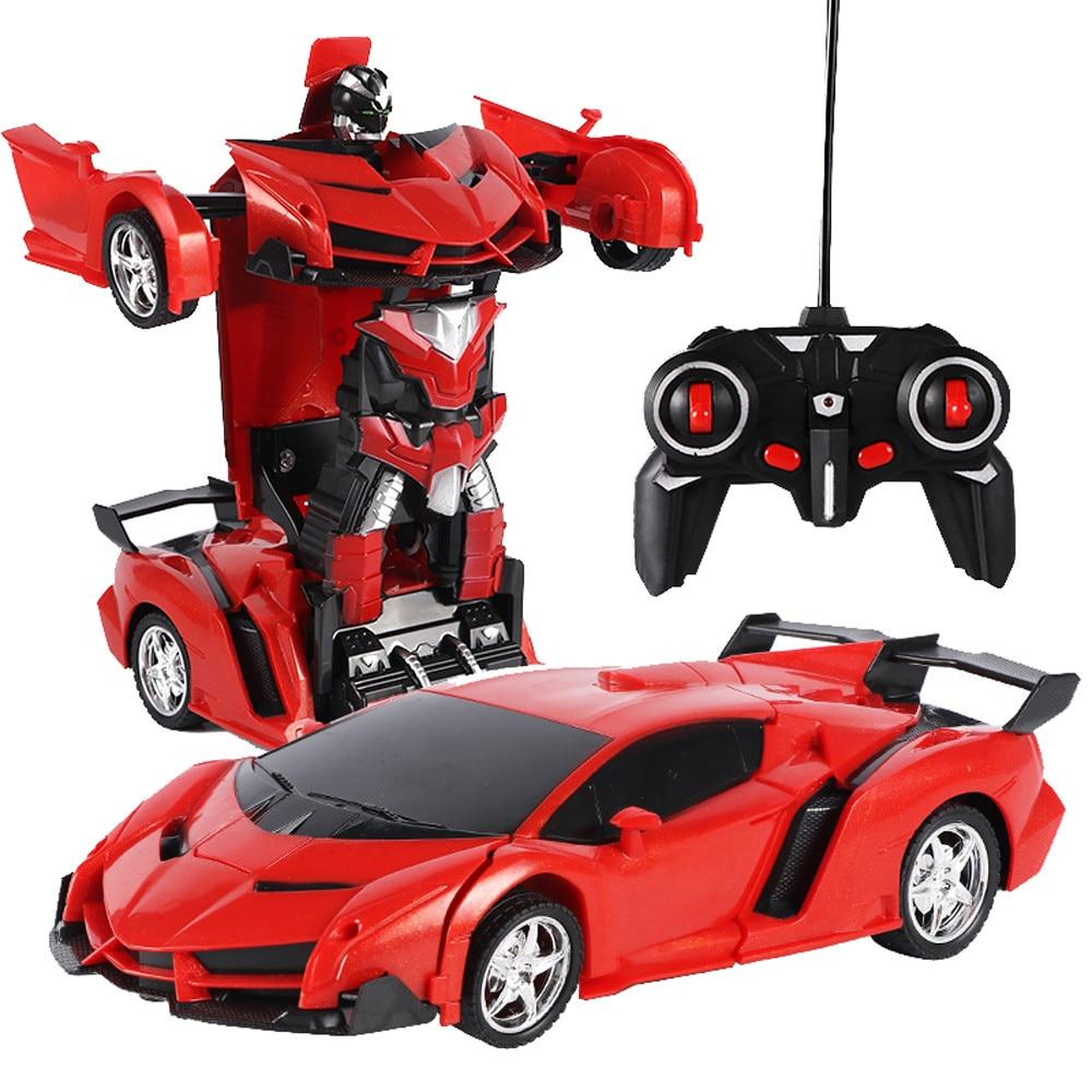 RC Transformable Car Robot Cop