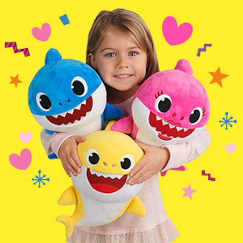 Baby Shark With Cartoon Music Plush Toy
