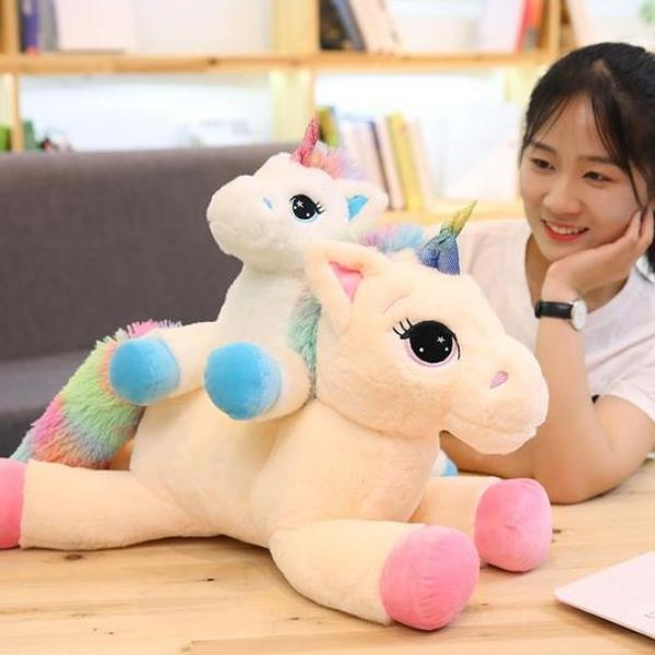 Unicorn Stuffed Animal Plush Toy Pink