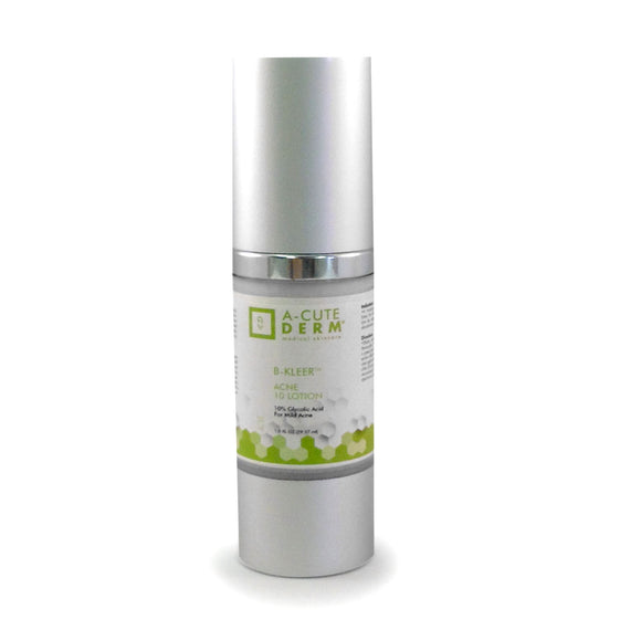 10% Glycolic Acid treatment for mild to moderate acne.