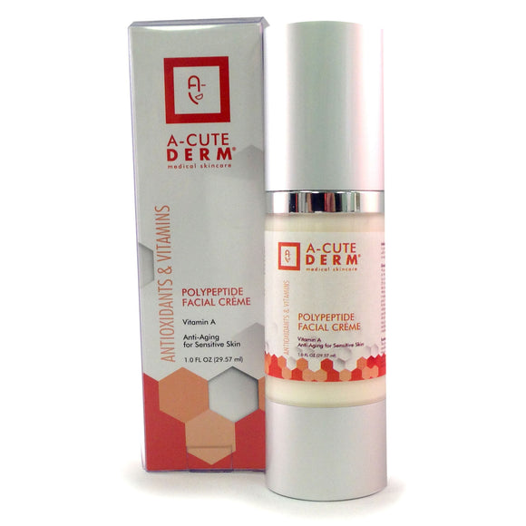 Vitamin A for Sensitive Skin, Peptide Facial Creme by A-Cute Derm