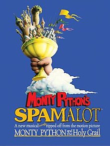 Spamalot performed by Malvern Prep Theater Society