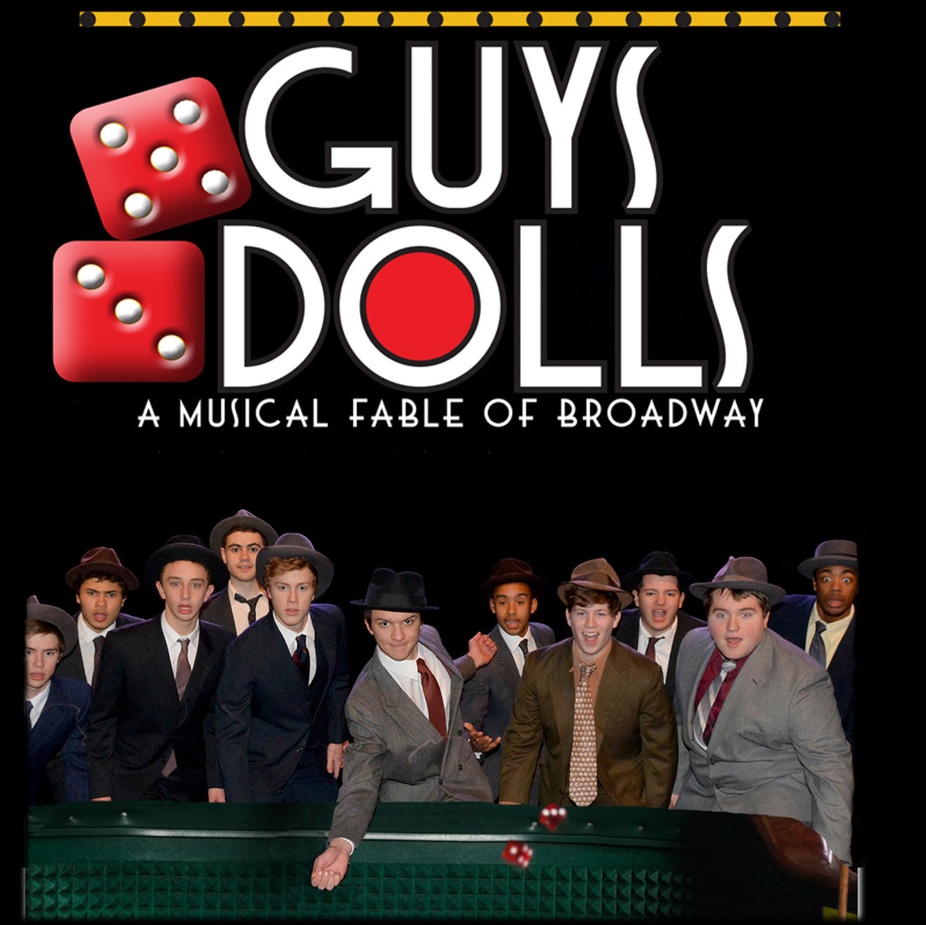 Guys and Dolls performed by The Haverford School Music & Theater Department