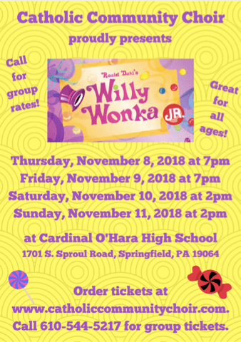 CCC performance of Willy Wonka Jr 2018 - Active Image Media