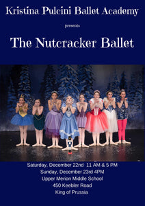 "KP Ballet Academy presents ""The Nutcracker"" (2018) - Saturday 11am show"