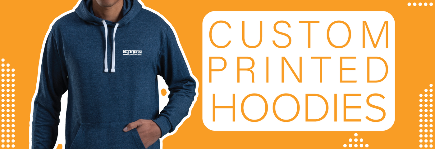 Custom Printed and Embroidered Hoodies