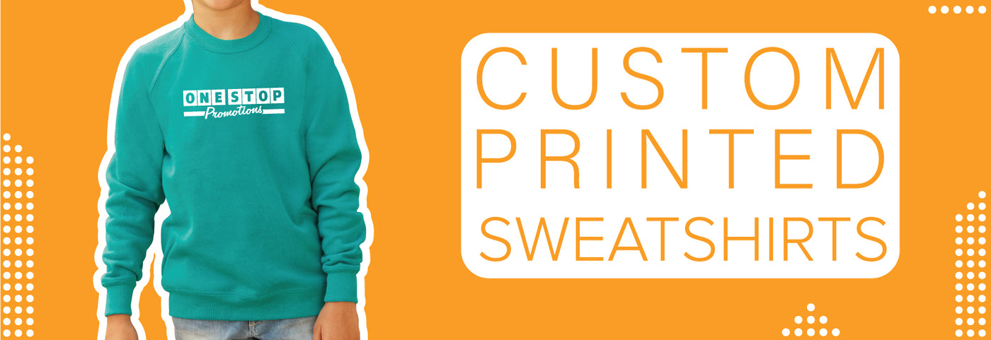 Printed or Embroidered Sweatshirts