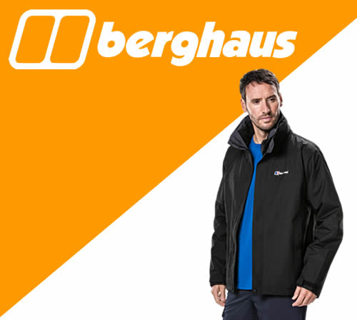 Berghaus personalised Clothing