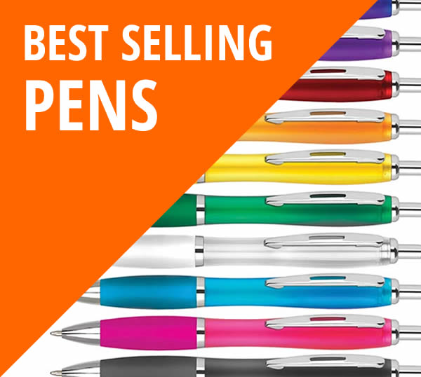 Best selling pens button