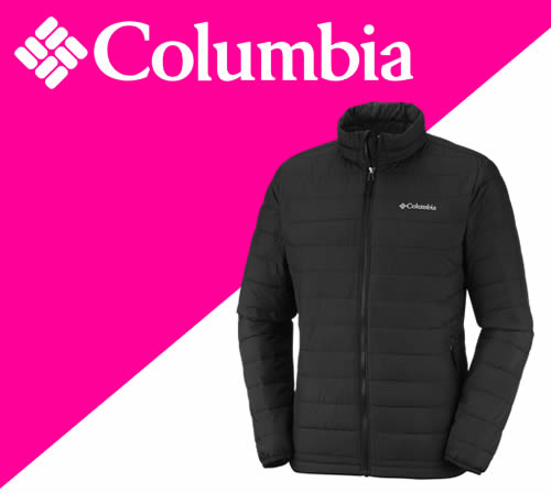 Columbia personalised clothing