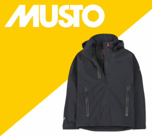 Musto personalised clothing