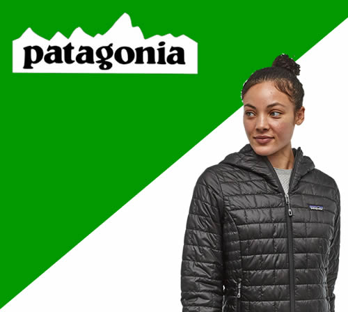 Patagonia personalised clothing