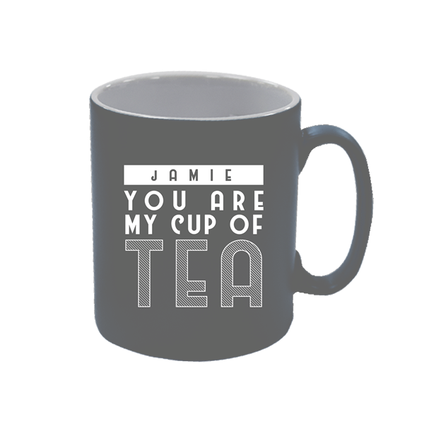 Design your own personalised mug - Grey