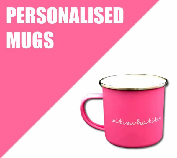 Personalised mugs for Christmas, birthday's or any other special occasion.