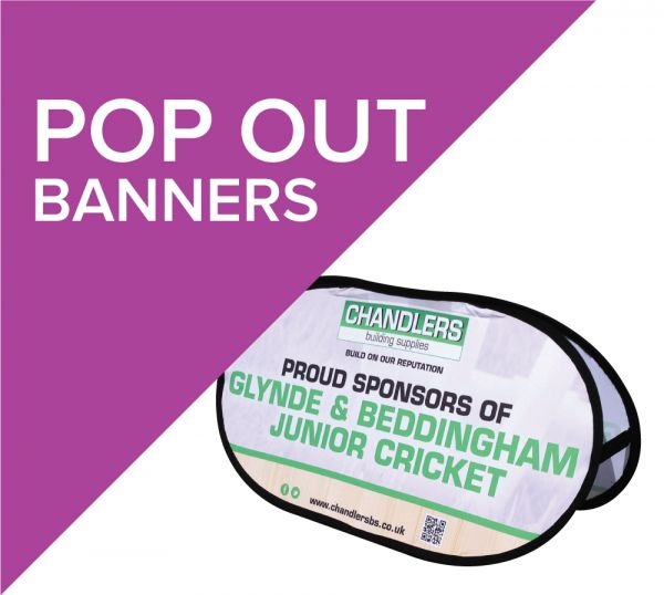 Pop out Banners