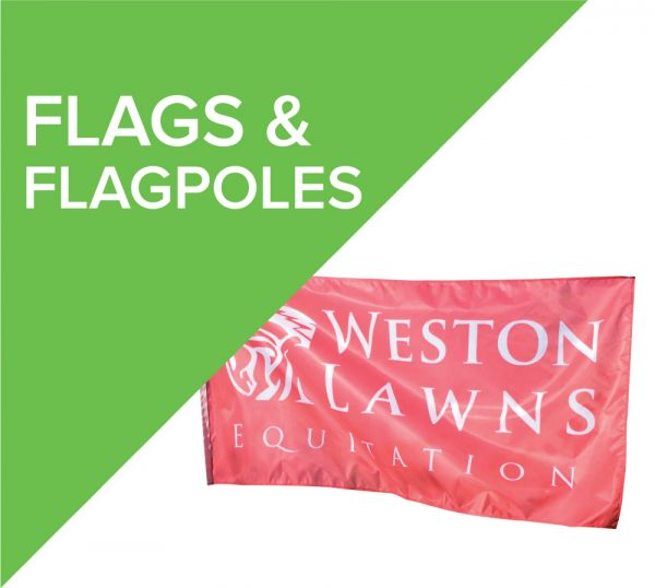Printed Flags and Flagpoles