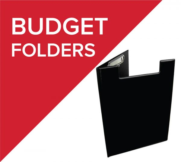 Huge range of budget folders all available with branding