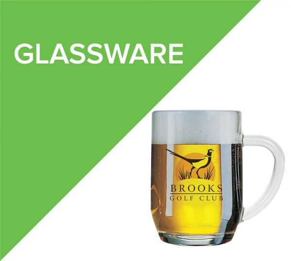 Engraved glassware for corporate gifts or board rooms