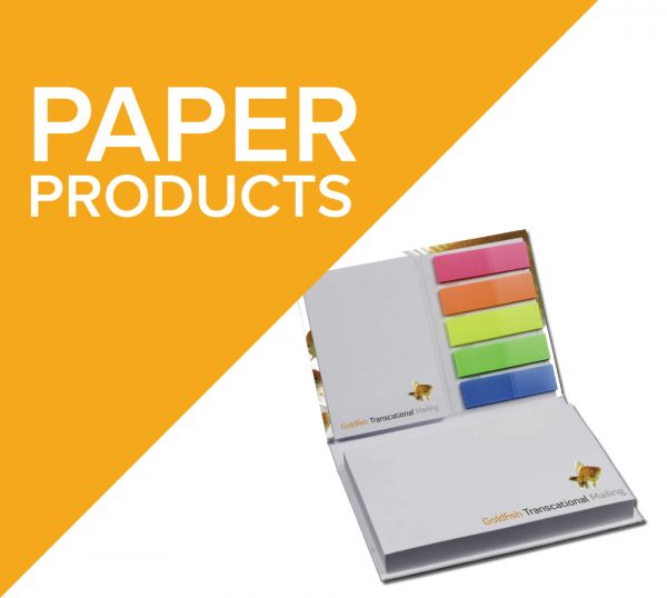 Branded paper products