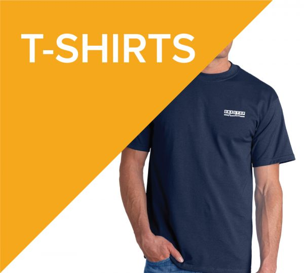 Printed promotional T-shirts