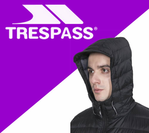 Trespass personalised clothing