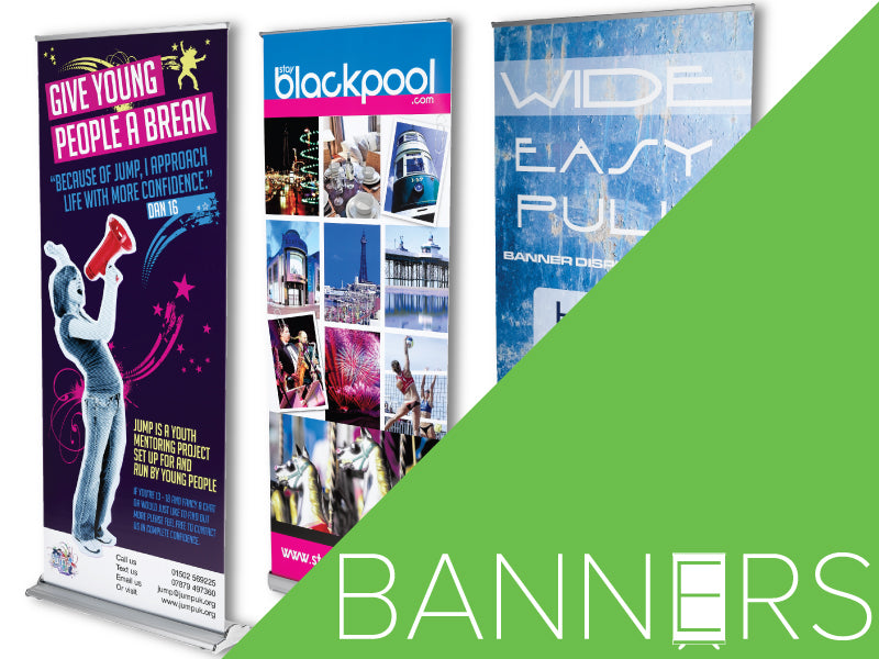 Roller Banners & Displays