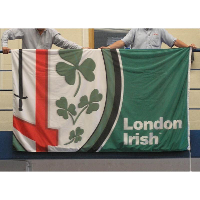 2800mm x 1400mm printed flag