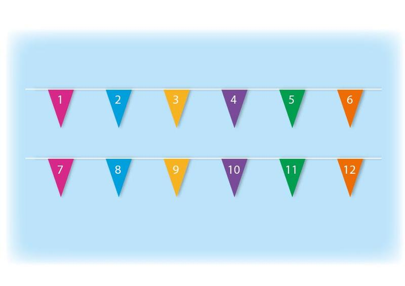 Count numbers bunting