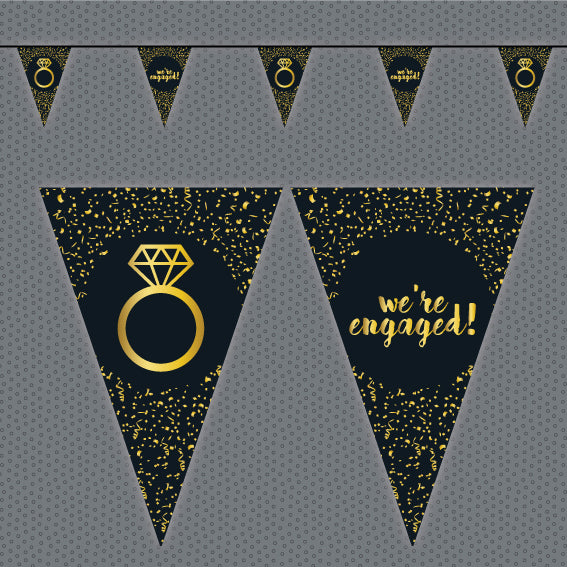 Engagement bunting