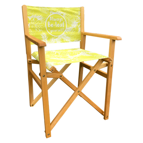Full Colour Personalised Directors Chair