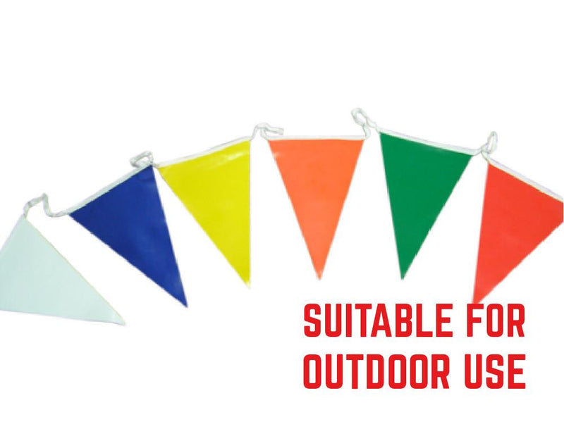 PVC bunting in your choice of colours