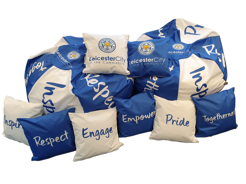 Printed promotional Bean Bag