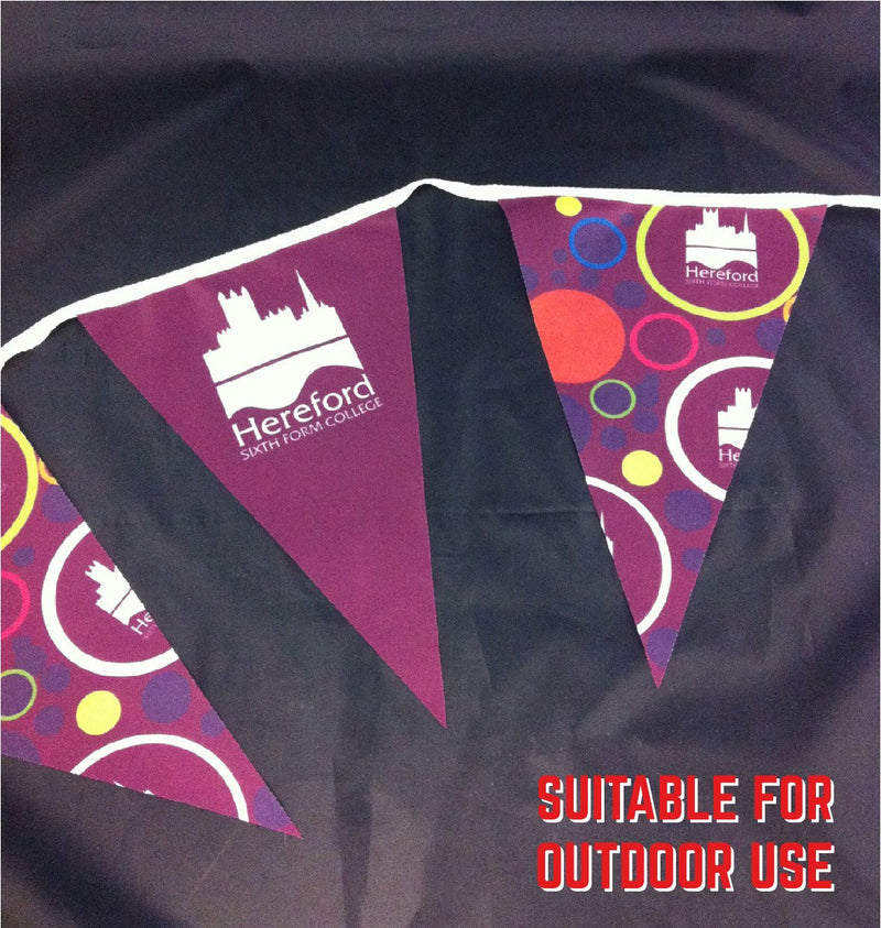Printed polyester bunting