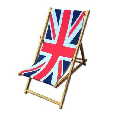Union Jack Deckchair